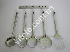 Набор кухонный (половник+шумовка+лопатка) (24шт)
