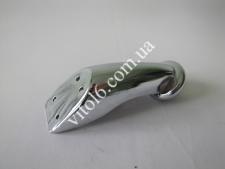 Ножка меб.метал.фигур.хром 100мм VT-0037  (100шт)