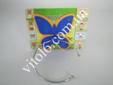 Кільце для рушника  Метелик YQ 411 VT6-11050(160шт)