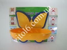 Мыльница  Бабочка  YQ 412 VT6-11051 (160шт)