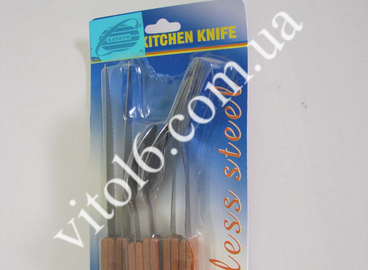 Набор на планшете:нож,вилка,ложка А 045 (240шт)