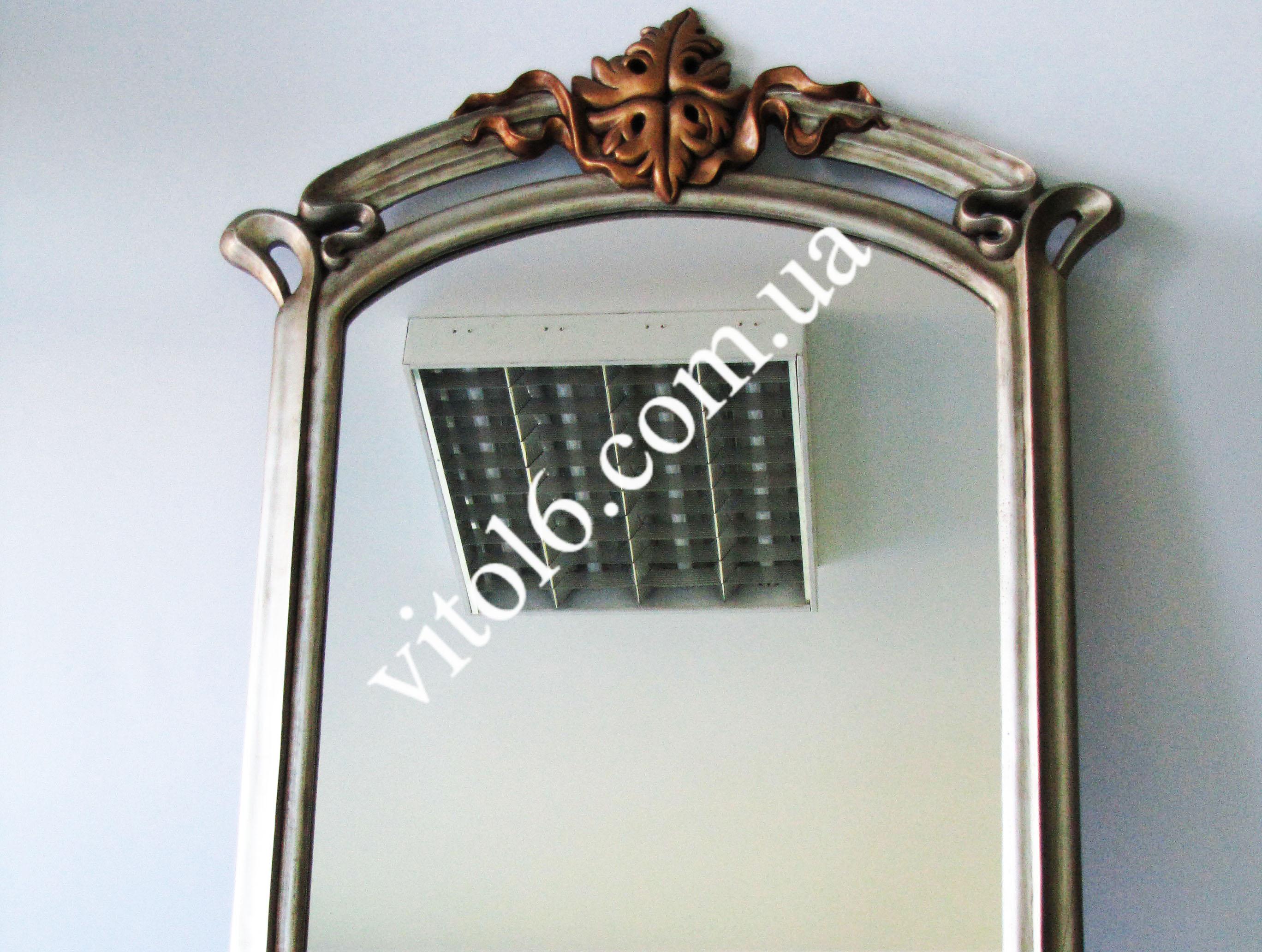 MD-002 Зеркало 1070*710 прямоуг.с фигур.вставк.