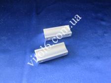 Ручка для алюмин.профиля плоская 3,2см. (200шт)