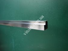 Профиль алюмин.фасадный 20х20 хром 1м.