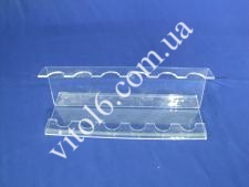 Подставка для л/в пластм.витринная(2х224)(152)