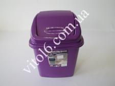 Ведро мусорное № 1 IRAK 5л СК-100 (24 шт)