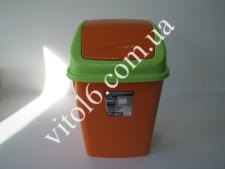Ведро мусорное № 3 IRAK 18л (12 шт)