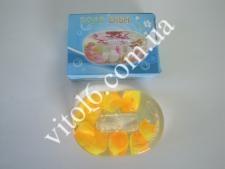 Мыльница  Лепестки желтых роз VT6-11289 (72шт)