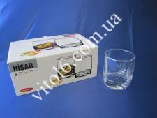 Стакан для виски  Хисар  6 х 285гр 42855 (8шт)
