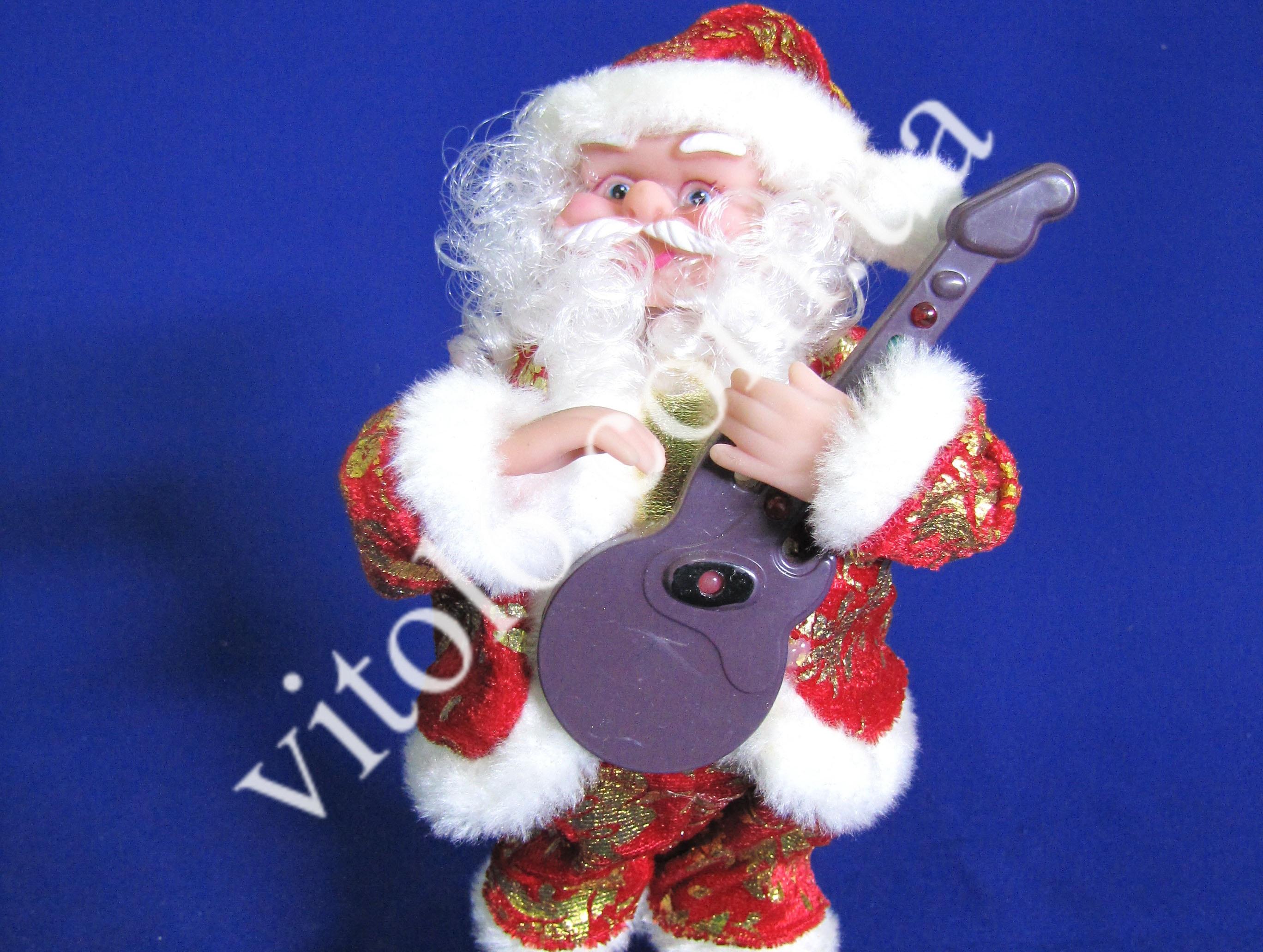 Дед мороз с гитарой  VT6-10583 (48шт)