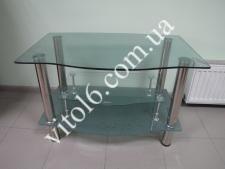 Тумбочка под TV стекло LF111 608 90х55 матов капля