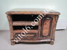 Тумбочка деревянная  012-1  коричн.  900х560х650