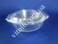 СВЧ Ёмкость круглая с крышкой 0,7л I-С00 (12шт)
