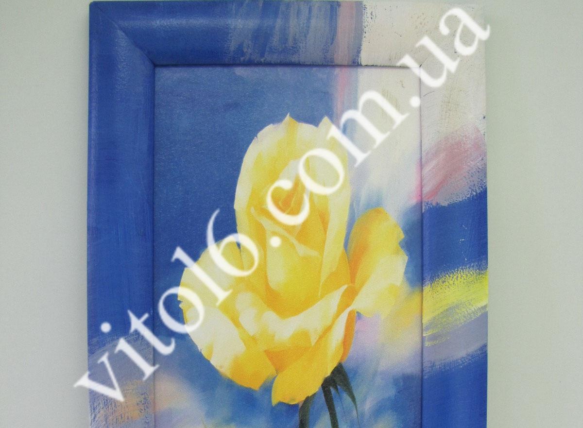 Картина 21,5*48 Желтая роза VT6-12031(24шт)