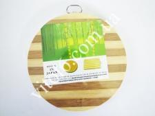 Доска разд.дерев.круглая 0 27 см VT6-12091 (20 шт)