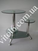 Консоль 333  LIF 001 40*40 капля серебро (1шт)