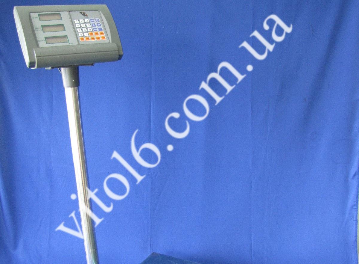 Весы 150кг   DH 8103-LСD c трубой 40х50 ( 2шт)