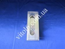Ручка врезная овал 96 мм (250 шт)