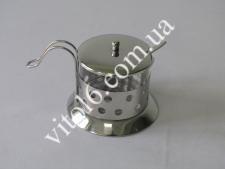 Сахарница S-33 стекло+металл VT6-12454 (60шт)
