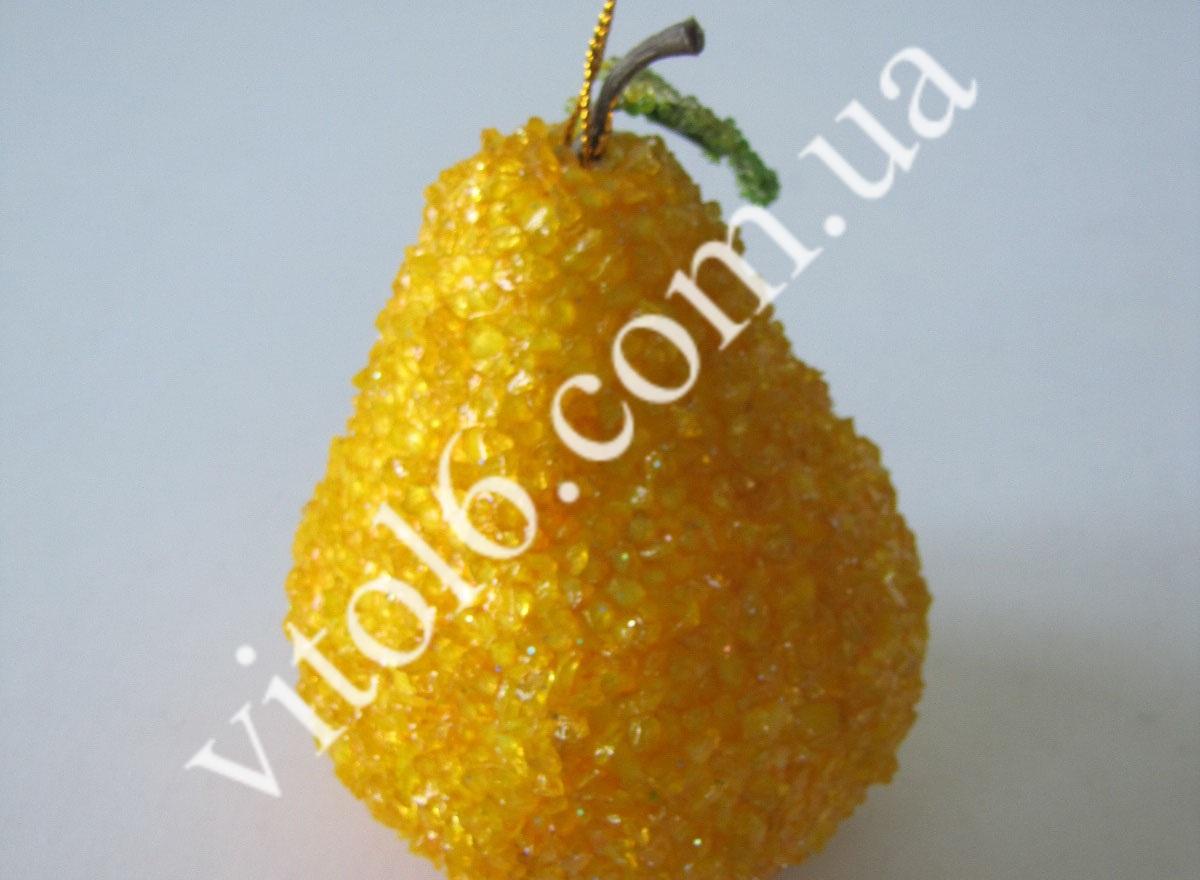 Груша желтая с камнем VT6-12239 (480шт)