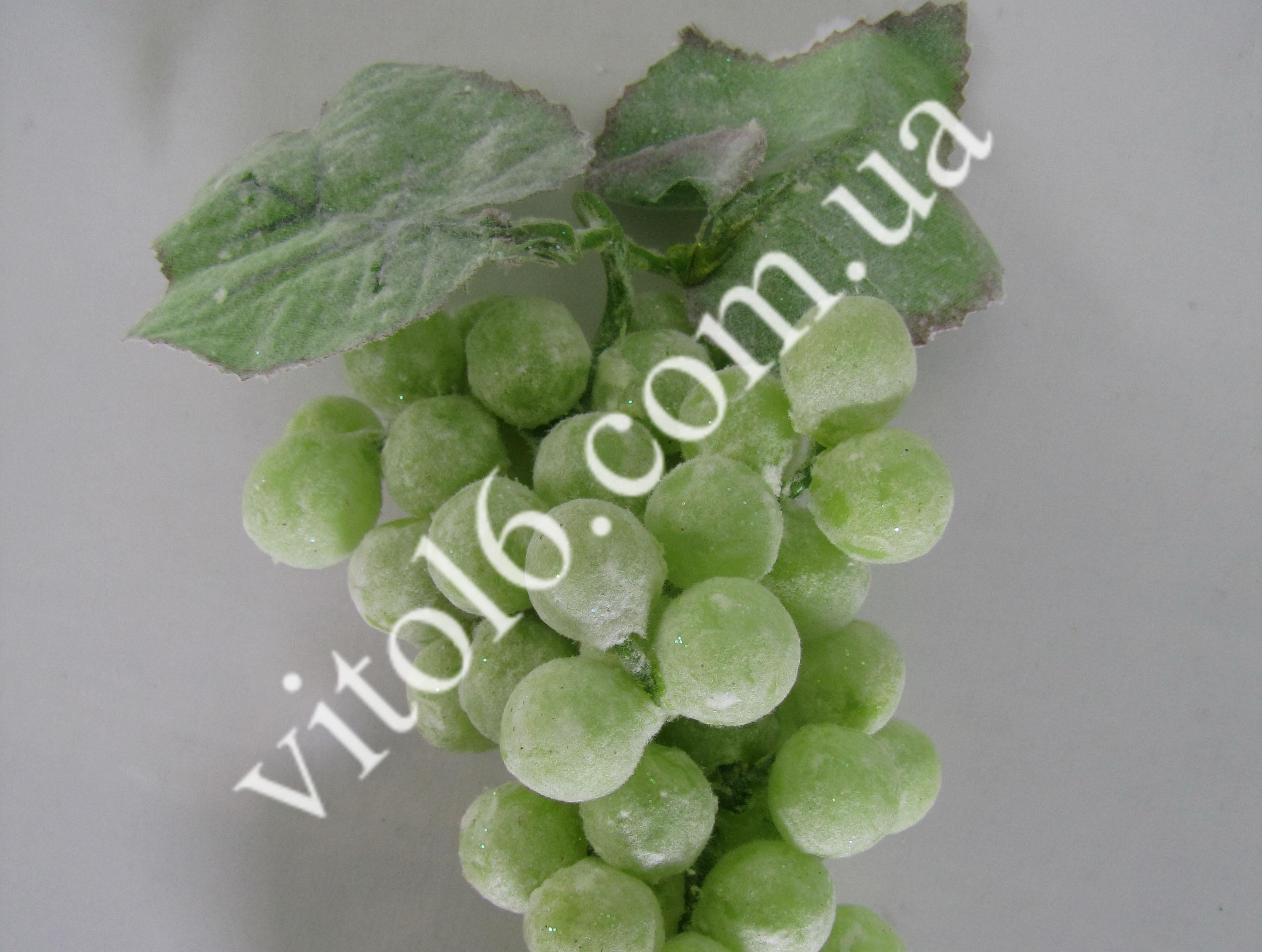 Виноград зеленый с инеем 85 шарVT6-12274(200шт)