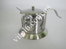 Сахарница S-06 стекло+металл VT6-12458 (60шт)