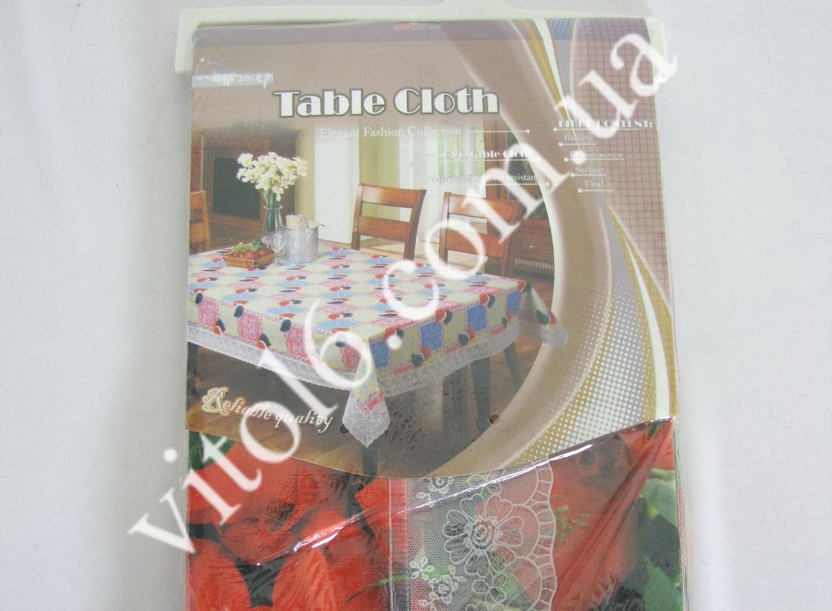 Скатерть ажурная HSH- 002 Розы   137*183(50шт)