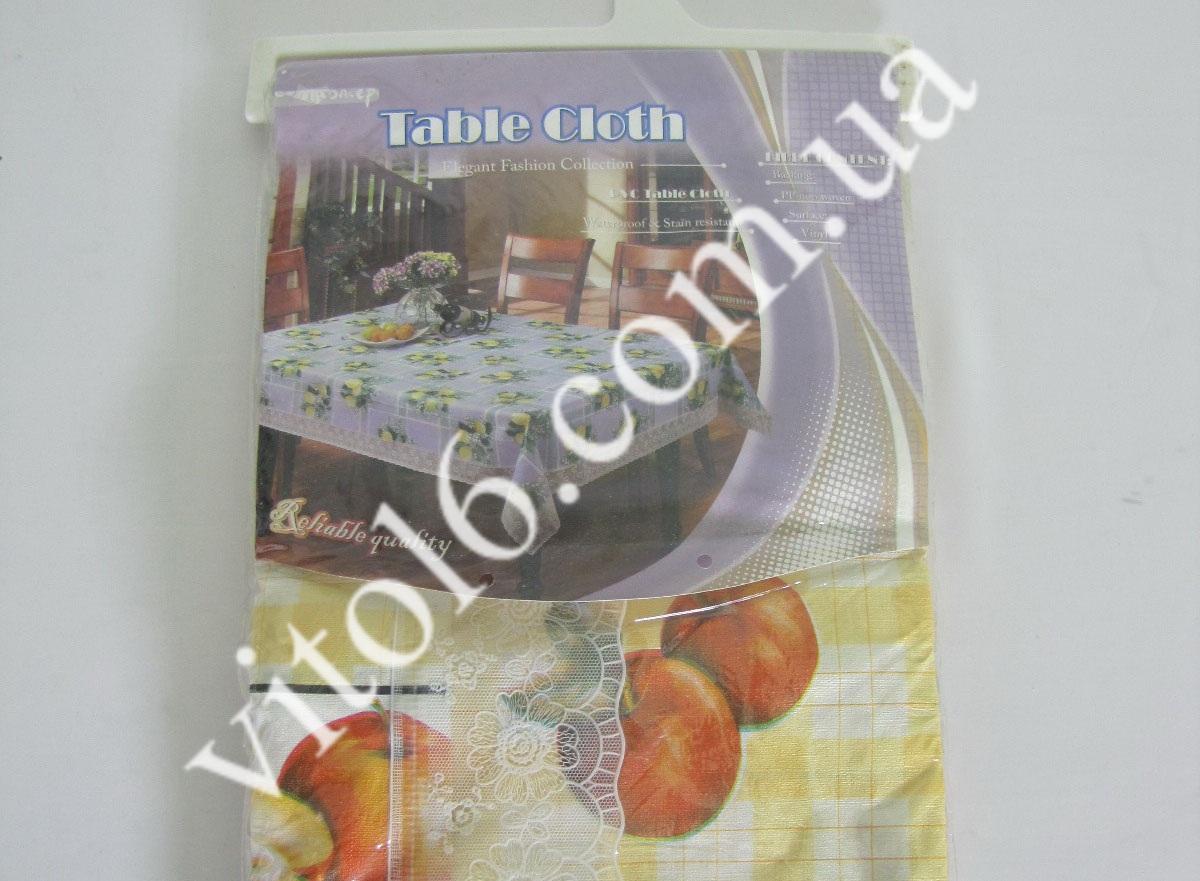Скатерть ажурная HSH- 006 Фрукты   152*228(50шт)