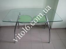 Стол стекло D323  1257*75