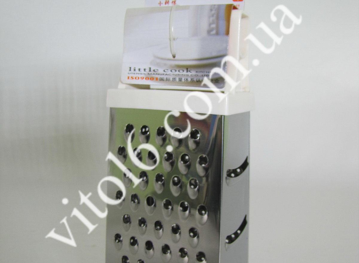 Терка 4-х гран элитная LG3001 VT6-13061(72шт)