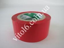 Скотч красный 220 м VT6-13404 (20шт)