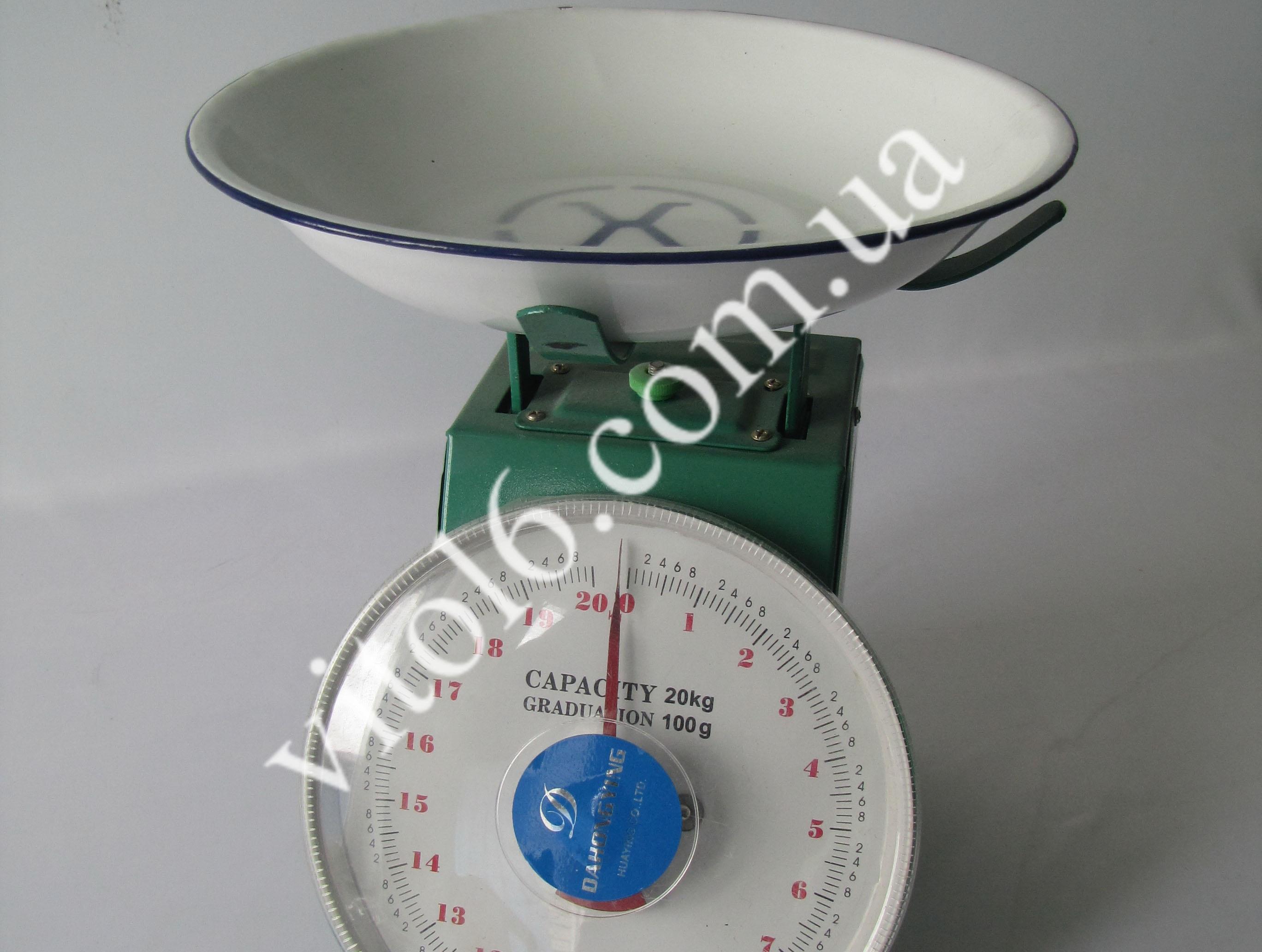 Весы 20кг  DH-833   чашечные (8шт)