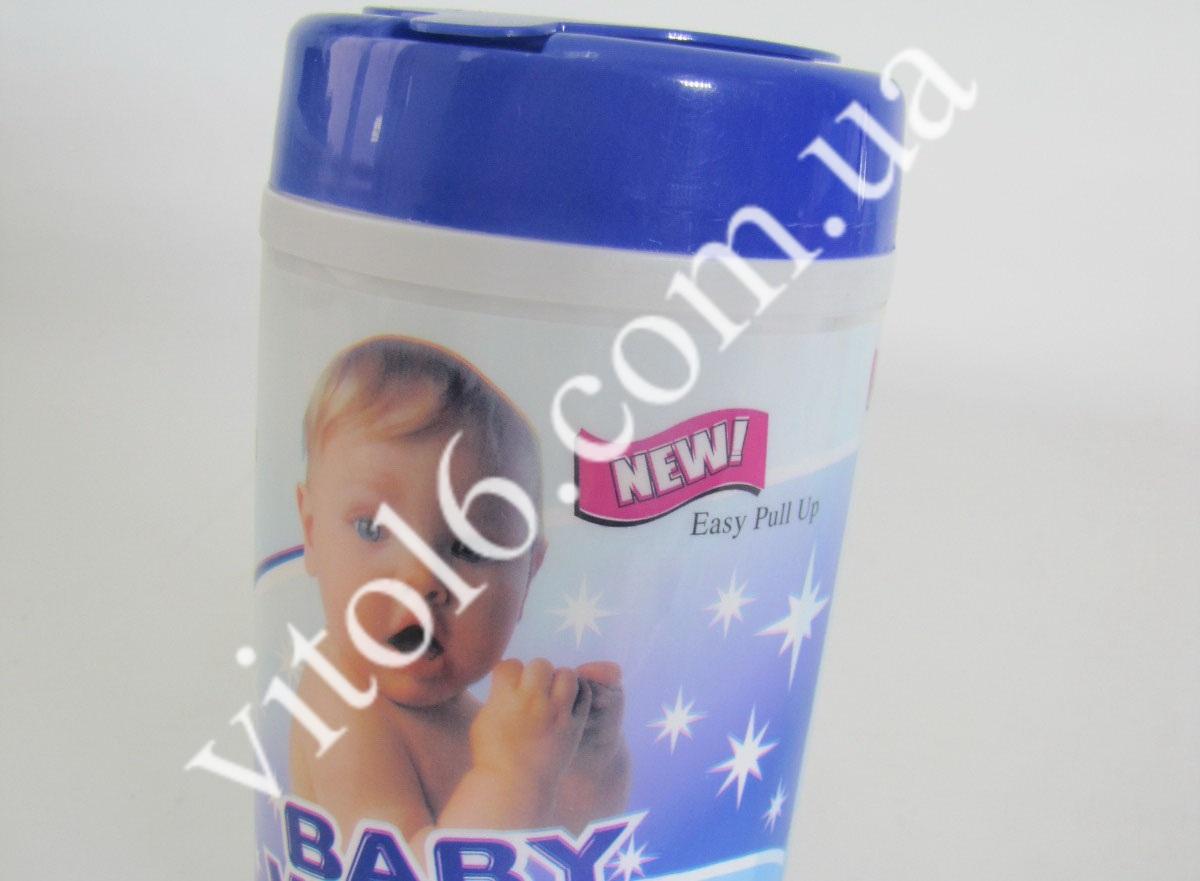 Салфетки для Беби из 40-шт 15*20 VT6-13323(48шт)