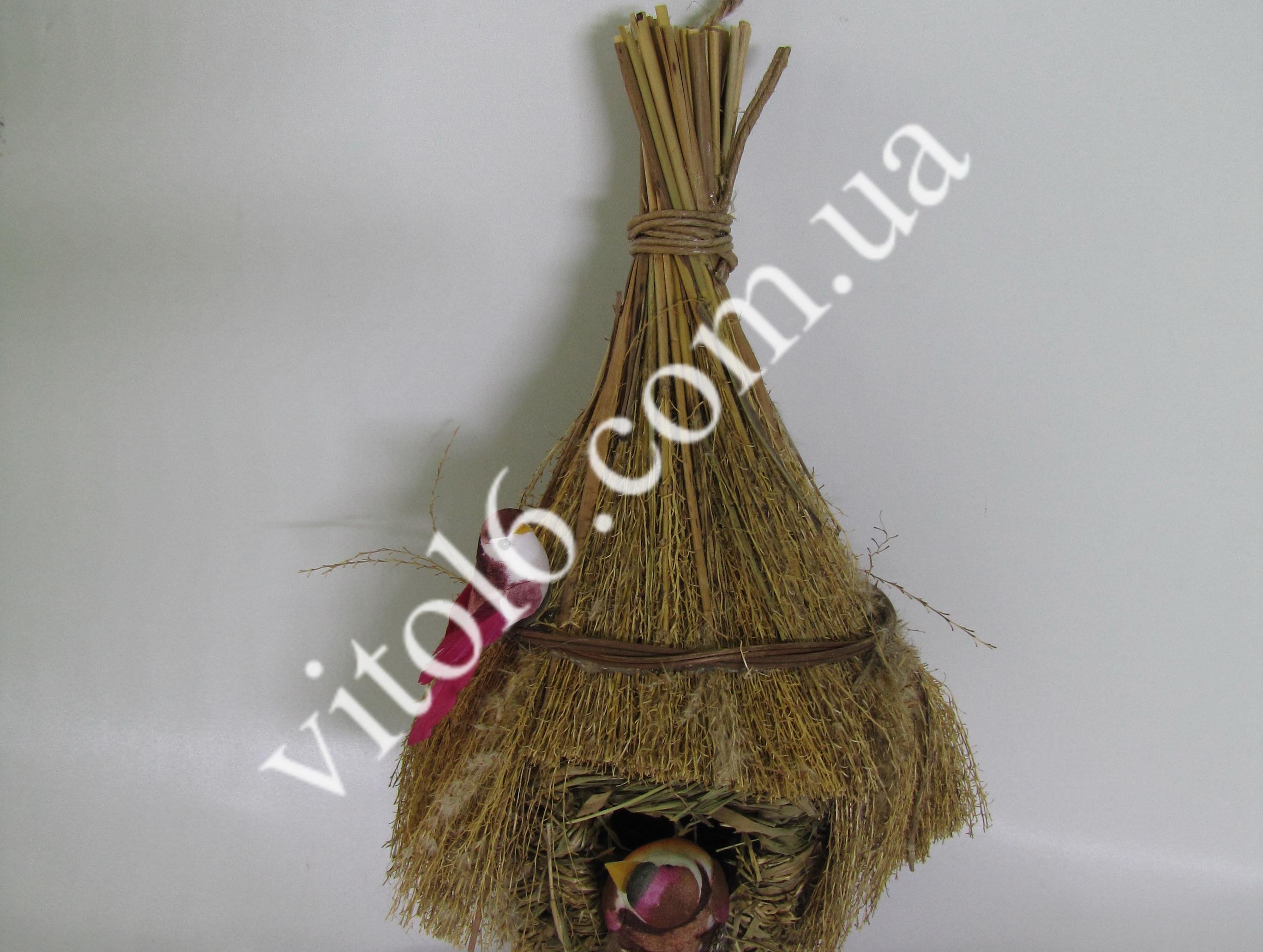 Гнездо (2-мя птицами) 25см VT6-13284(90шт)