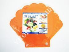 Доска разд.пластм. ракуш27,5 см 235грVT6-13416(96)