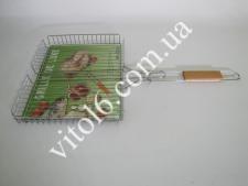 Барбекю №511с деревян. ручкой LUX высокое   (20шт)