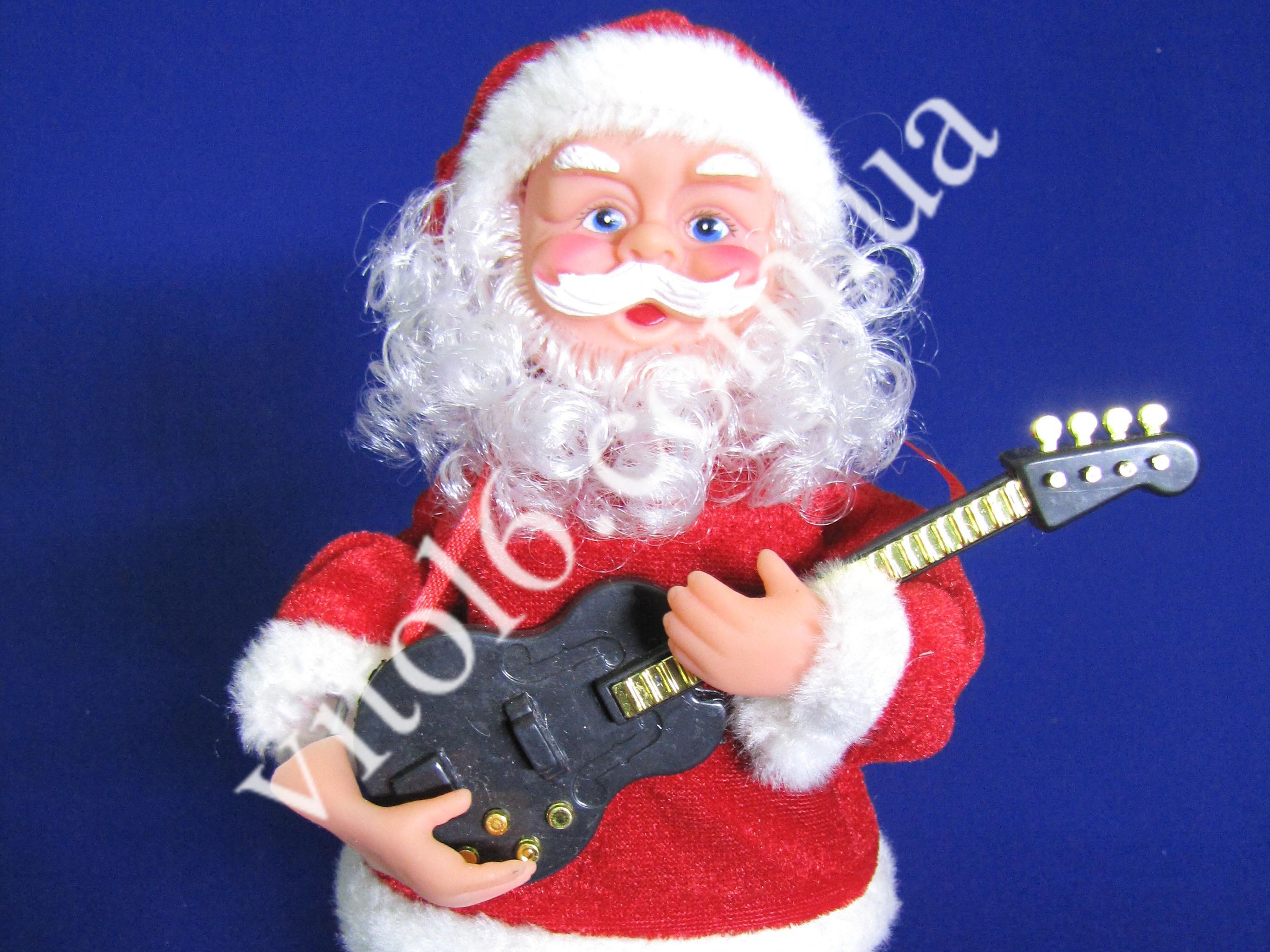 Дед Мороз мал 12064 с гитарой VT6-13491(36шт)