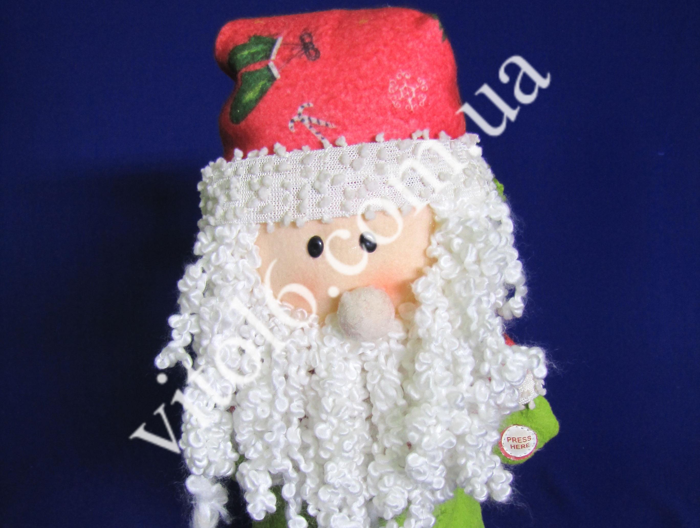 Дед Мороз/ Снеговик музыкальный VT6-13517(40шт)