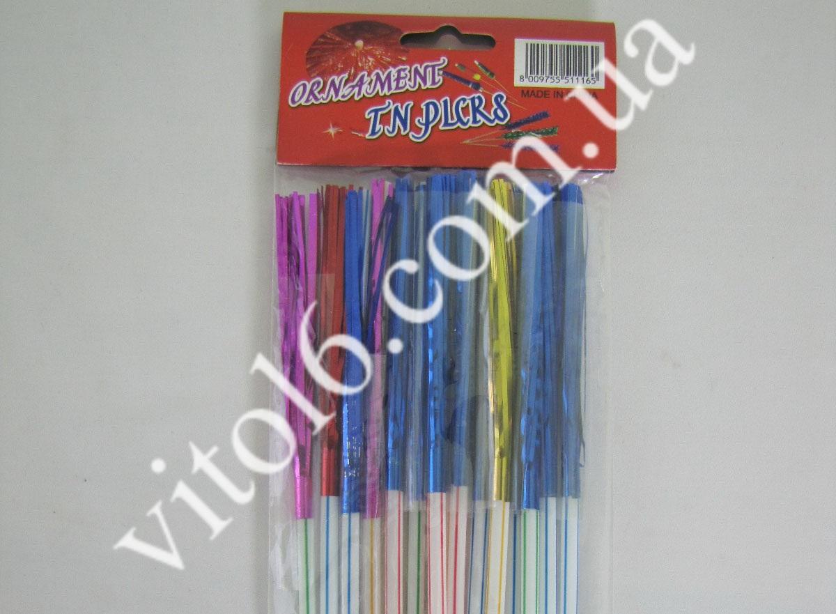 Набор трубочек с зонтиком (в1уп=15шт)VT6-13731(600