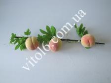 Ветка с персиками  (3шт на ветке)VT6-13951(100шт)