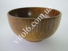 Салатник деревянный О14,5*7,5   VT6-13848(100шт)