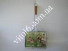 Барбекю №504 32*24*60 з дерев. ручкою LUX високе  (20шт)