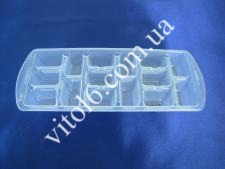 Форма для льда 16003  Дунья  с крышкой  (84шт)