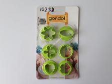 Форма для печенья пласт.G 59 кругл. с фигур. (40)