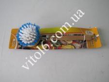 Щетка деревян.с ручкой 21см №9 VT6-14145(144шт)