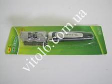 Точилка металл  с чёрной ручкой  VT6-14151(144шт)