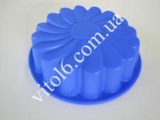 Форма силик. Ромашка   О24,5см 6смVT6-14292(120шт)
