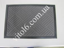 Коврик  Welcom 40*60 серые ромбики VT6-14089(25шт)