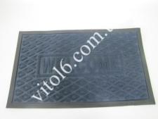 Коврик  Welcom 45*75 синий  VT6-14091(25шт)