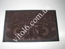 Коврик  Welcom 45*75 коричневый VT6-14092(25шт)